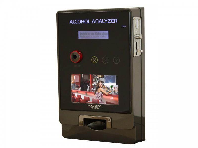AL 4000 D - detektor na mince