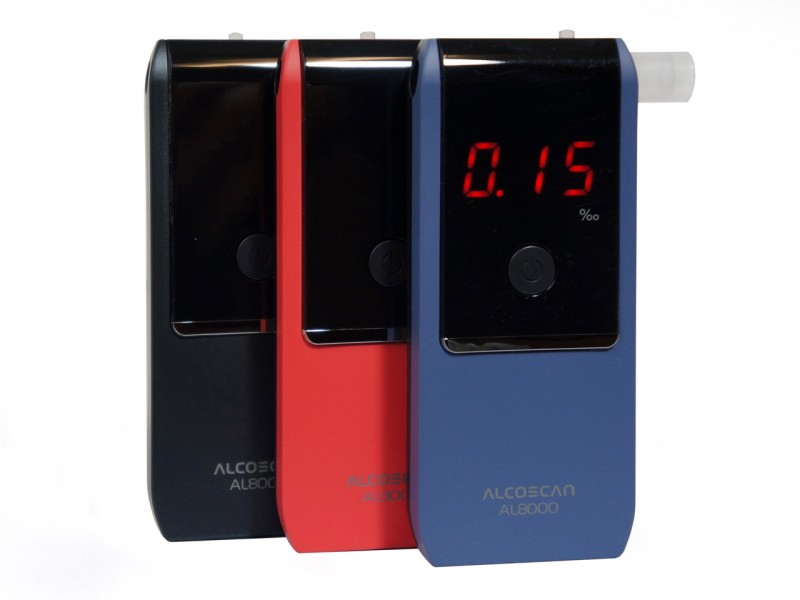 AL 8000 - Osobný/firemný alkohol tester Fuel Cell
