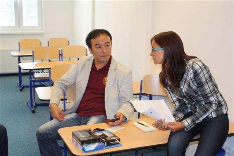 Návšteva z firmy Sentech Korea