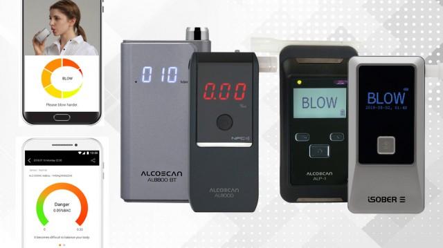 Detektory, ktoré sa prepoja so SMARTPHONOM